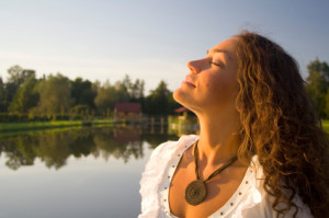 Try deep breathing exercises daily to help facilitate better cleansing through your lungs.